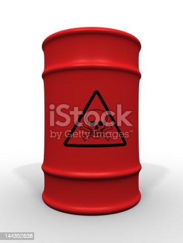 istock Toxic waste barrel 144352638