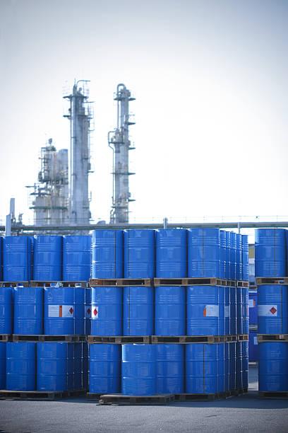 Toxic Waste stock photo