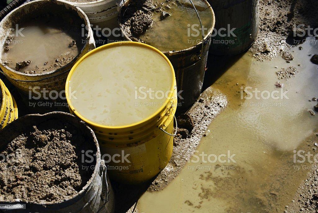 Toxic waste royalty-free stock photo
