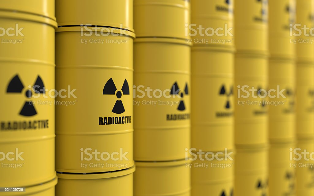 Toxic waste stock photo