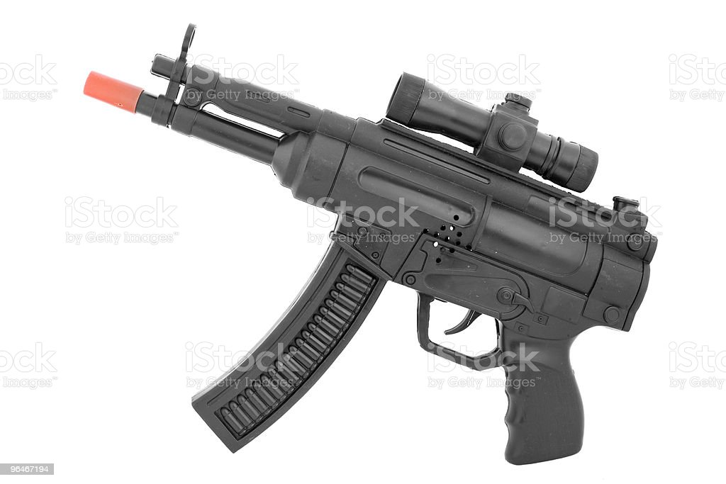 Toy - a pistol royalty-free stock photo