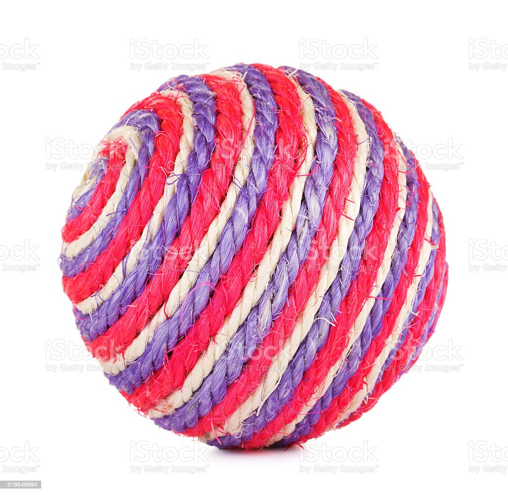 Toy Ball For Cat stock photo