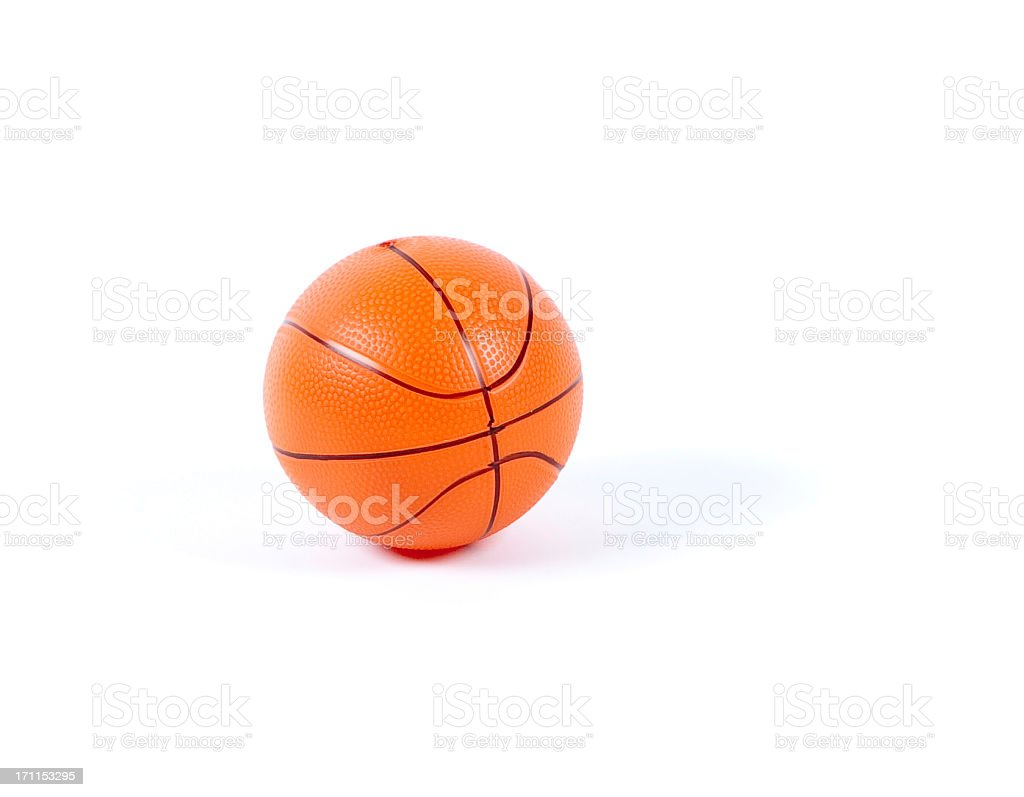 Toy basketball stock photo