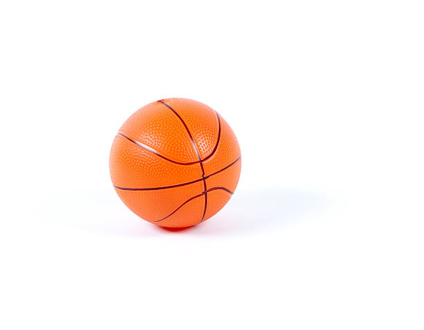 Toy basketball stock photo