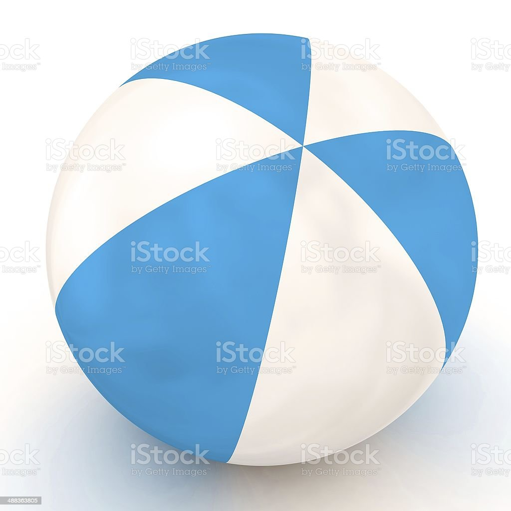 Toy beach ball royalty-free stock photo
