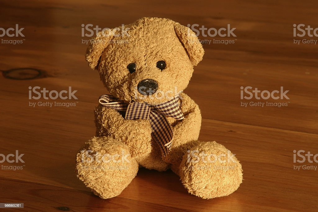 Toy bear 2 royalty-free stock photo
