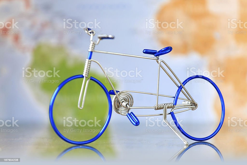 Toy bicycle royalty-free stock photo