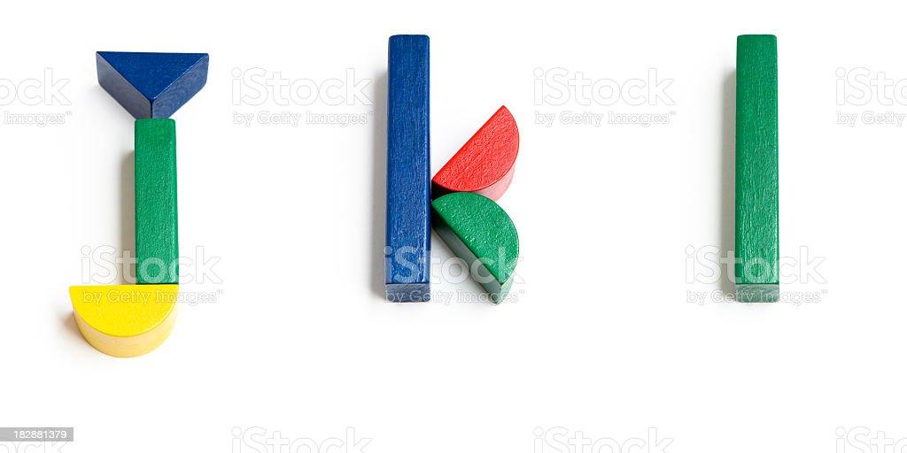 Toy Block Alphabet – Foto