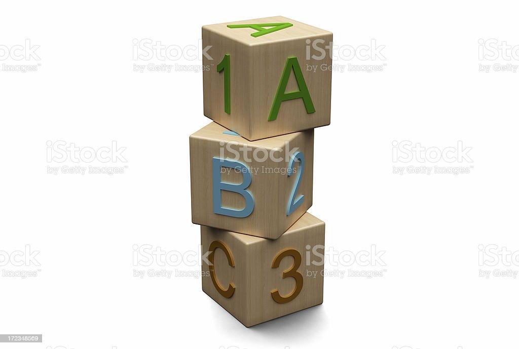Toy Block royalty-free stock photo