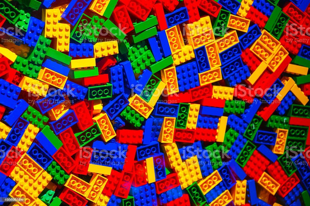 toy blocks stock photo