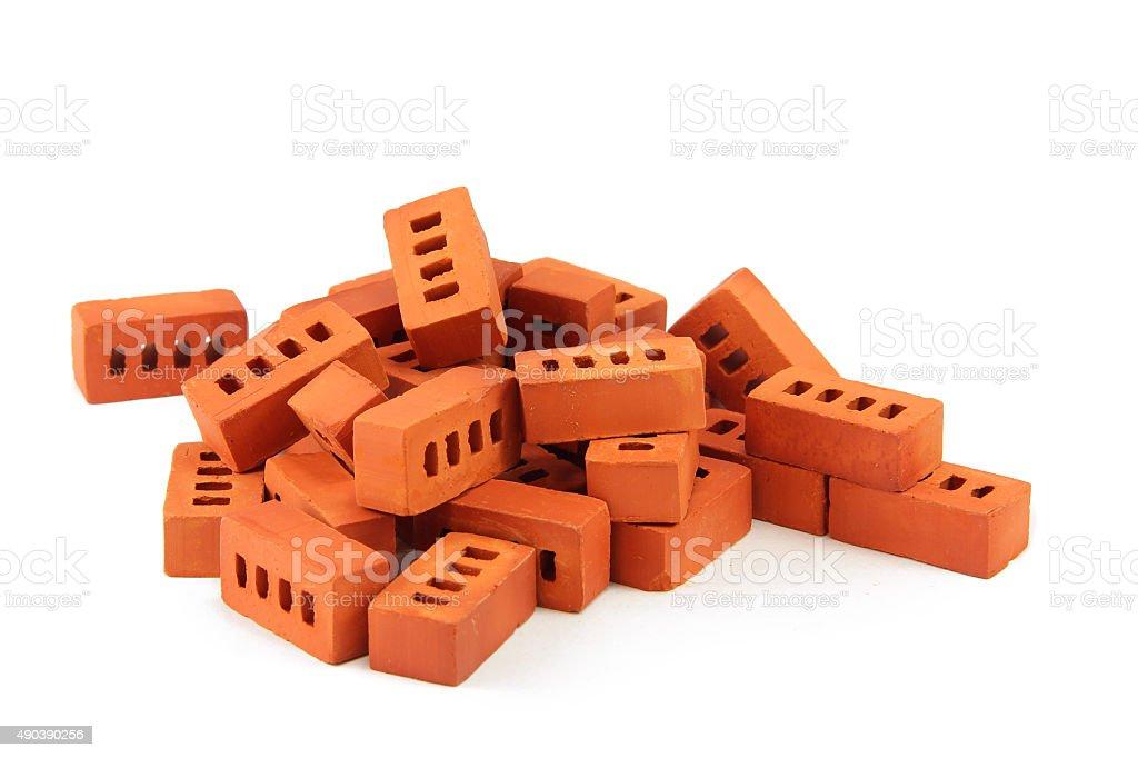 toy bricks isolated on white stock photo