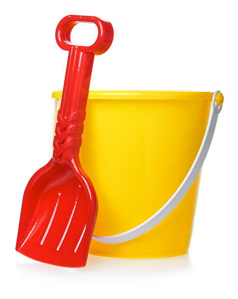 Toy Bucket And Scoop stock photo