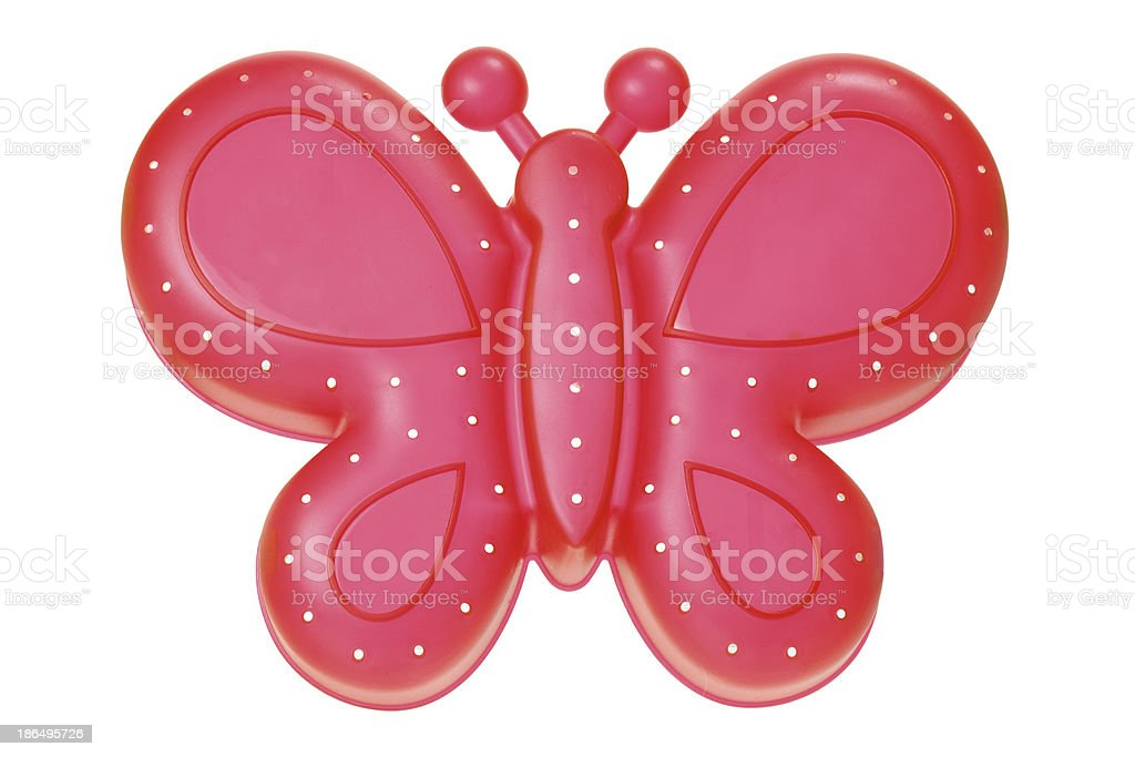 Toy Butterfly royalty-free stock photo