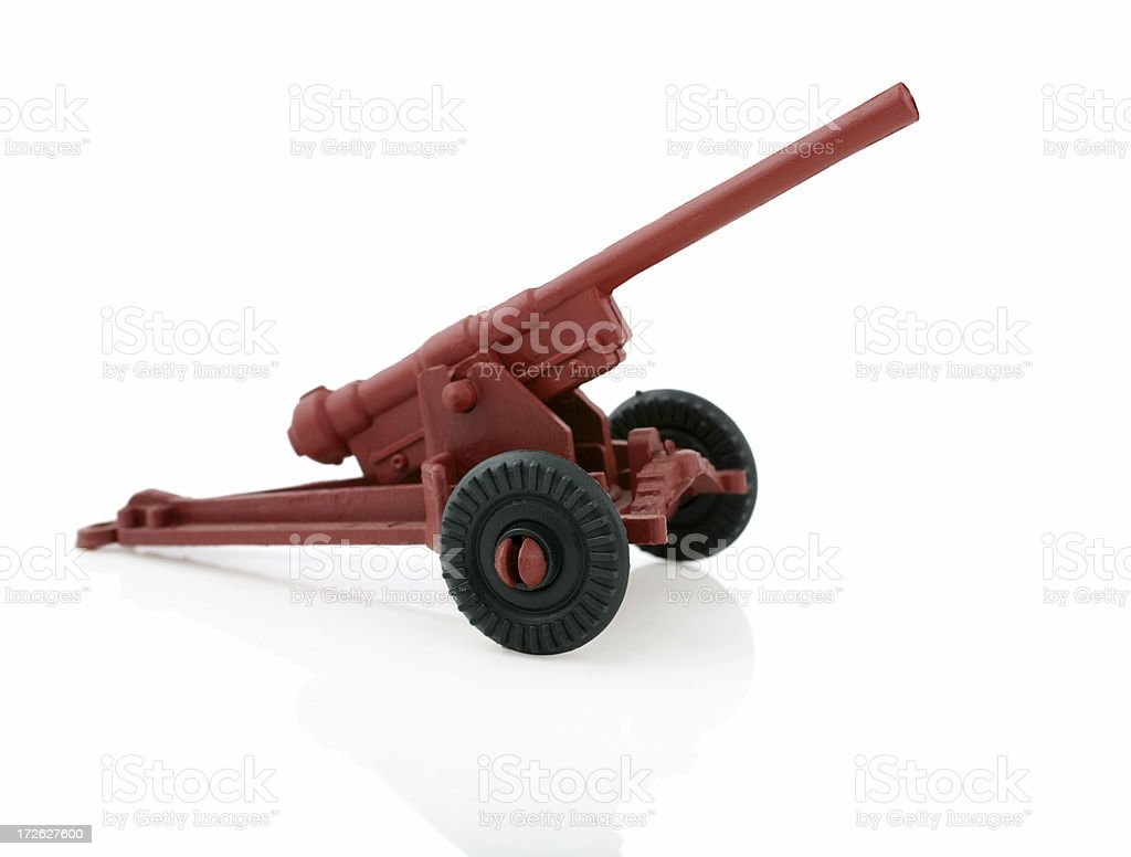 Toy Canon royalty-free stock photo