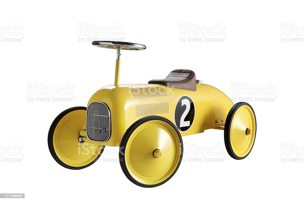Toy Car +Clipping Path (Click for more) stock photo