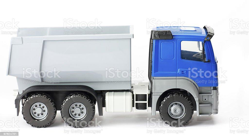 Camión de juguete - foto de stock