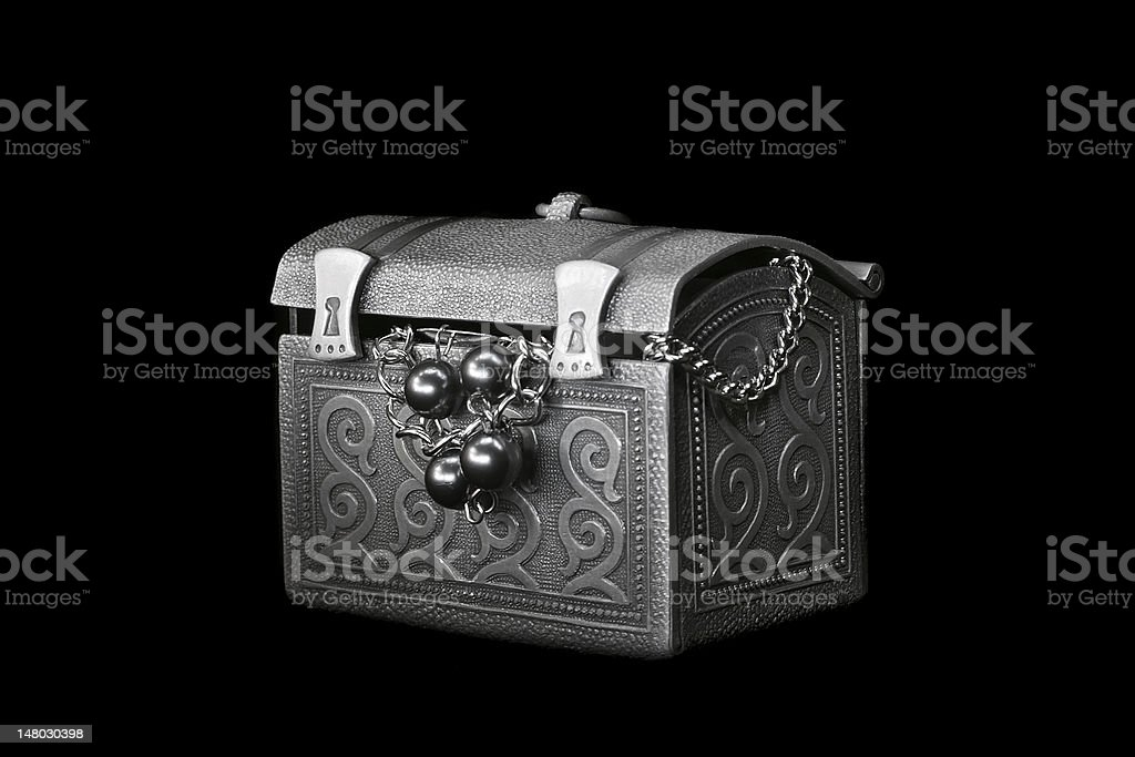 Toy chest royalty-free stock photo