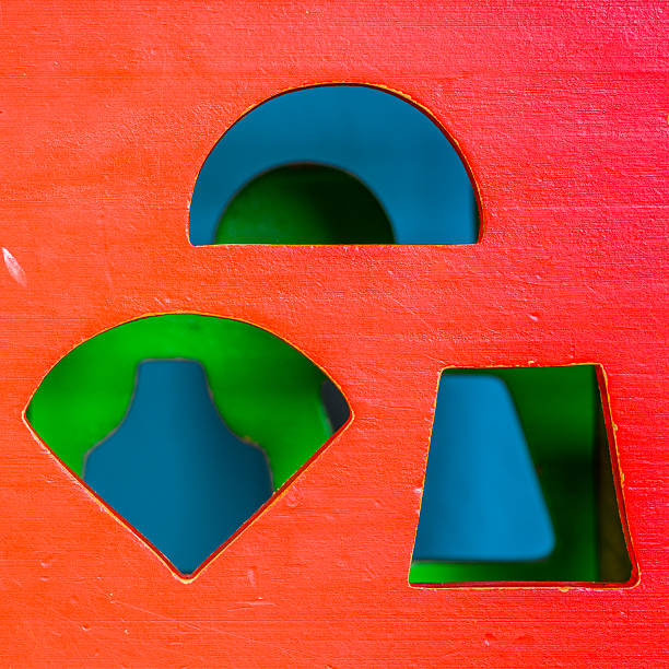 Toy cube stock photo