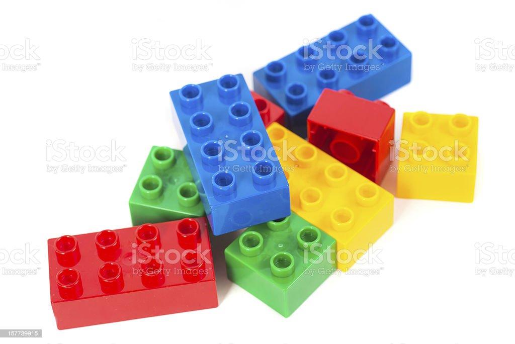 toy cubes - Bunte Bausteine stock photo