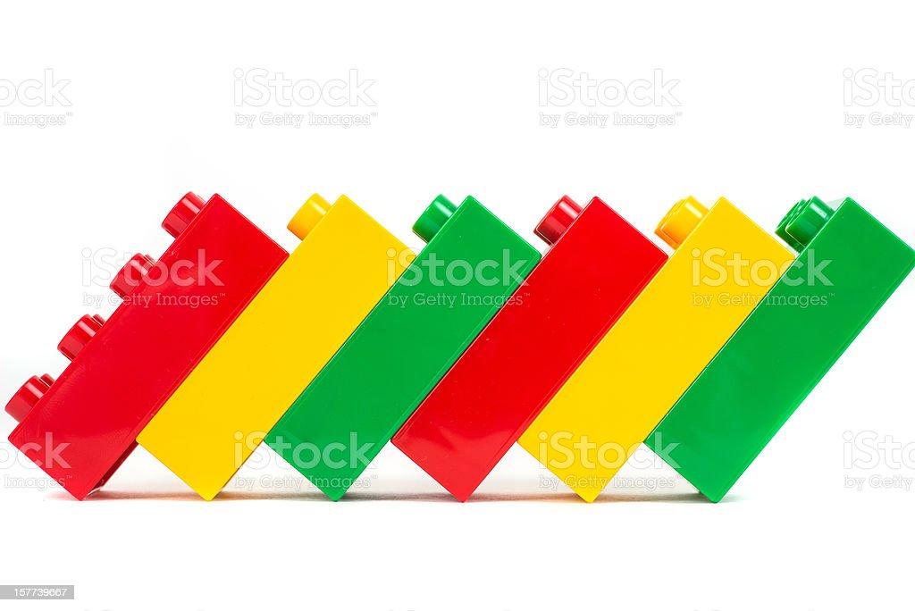 toy cubes plastic blocks stock photo