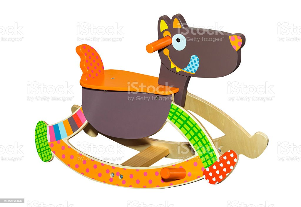 Superb Toy Dog Rocking Chair Stock Photo Download Image Now Squirreltailoven Fun Painted Chair Ideas Images Squirreltailovenorg
