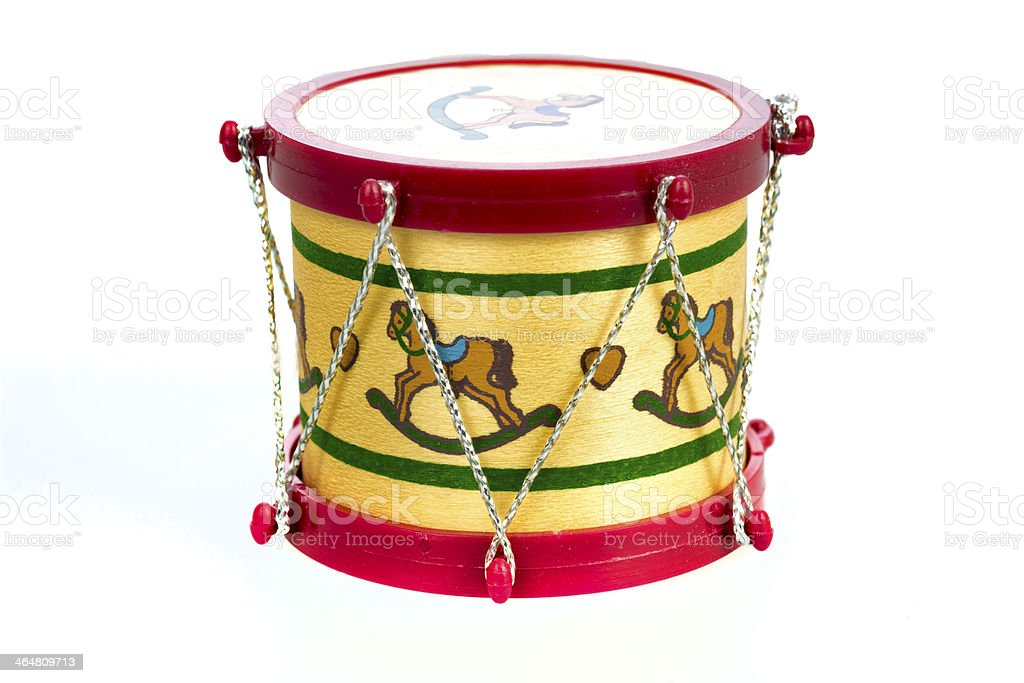 Christmas Drum.Toy Drum Christmas Ornament Stock Photo Download Image Now