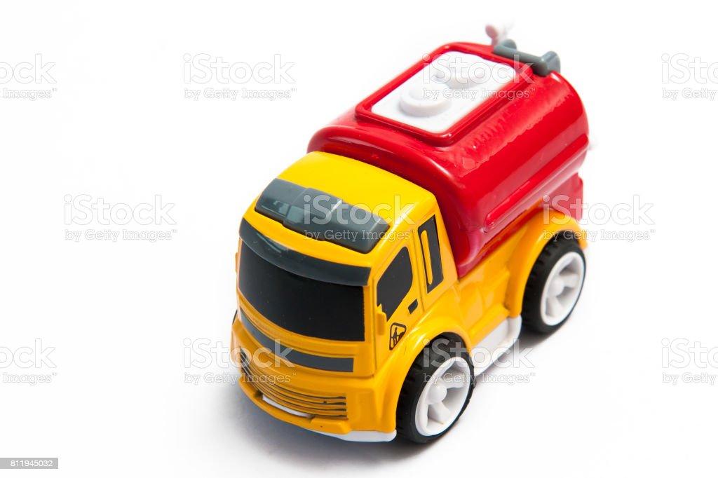 Camión de bomberos de juguete - foto de stock