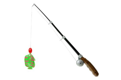 istock Toy Fishing Rod 137286771