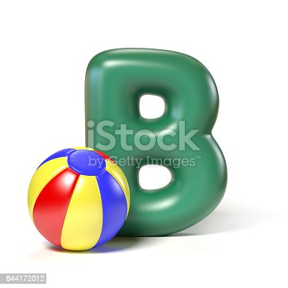 istock Toy font letter B 844172012