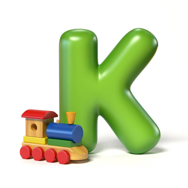 Toy font letter K Toy font letter K k icon stock pictures, royalty-free photos & images