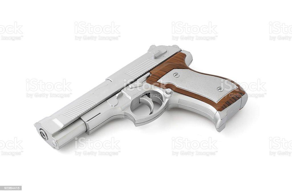 Toy gun royalty-free stock photo