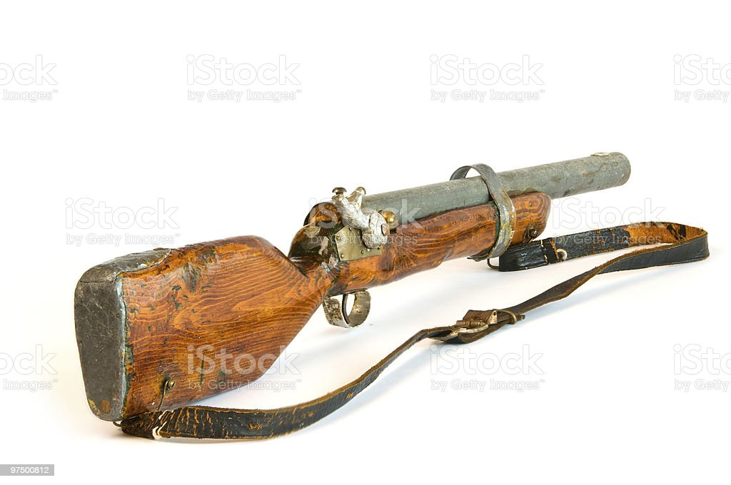 Toy Gun royalty-free stock photo