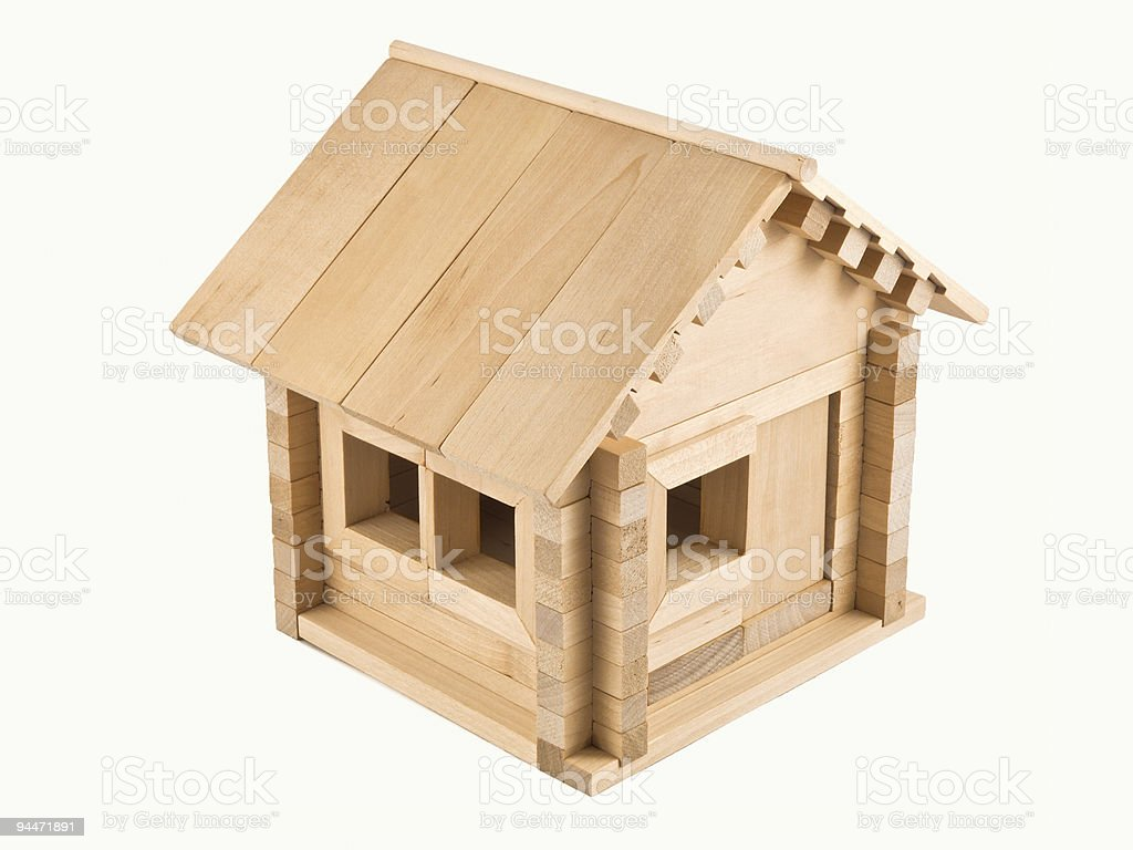 toy house royalty-free stock photo