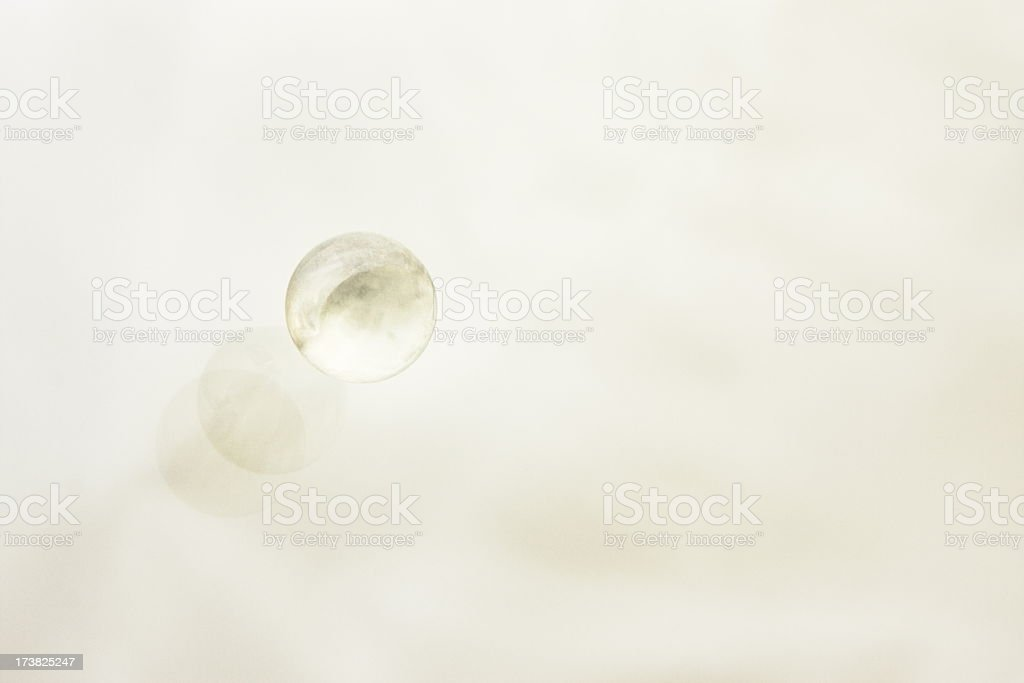 Toy Marble Game Sphere Reflection Abstract royalty-free stock photo