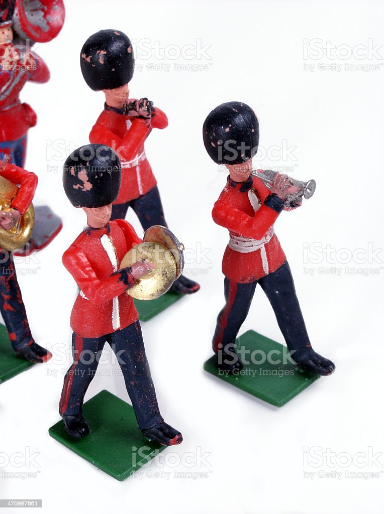 toy marching band royalty-free stock photo