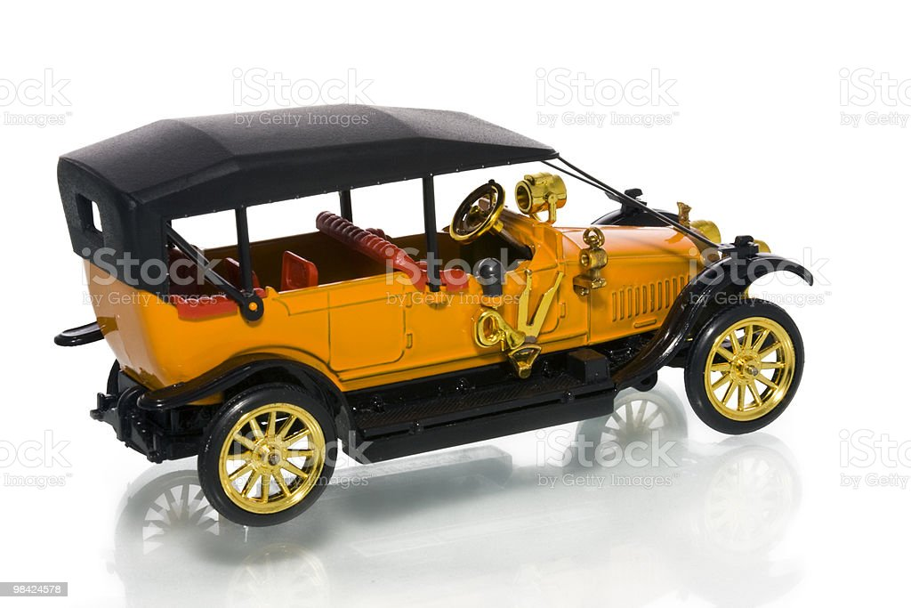 Toy model car royalty-free stock photo