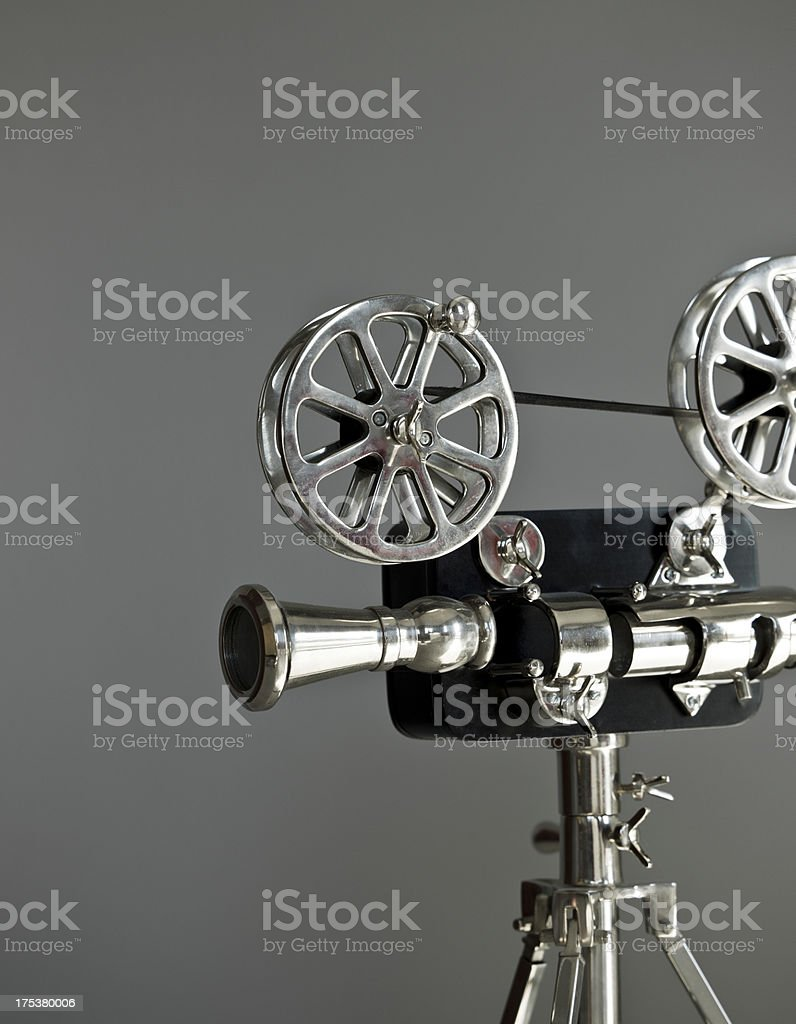 Toy movie projector stock photo