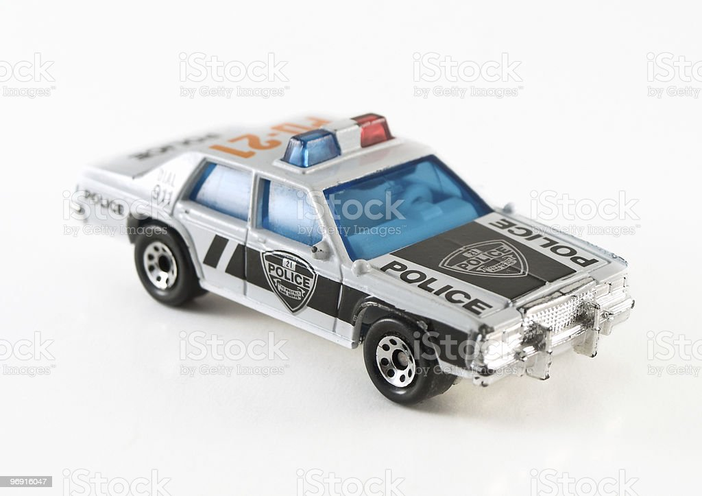 toy police car royalty-free stock photo