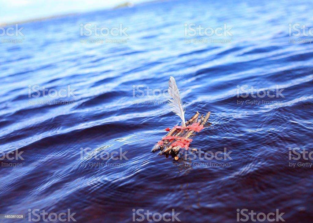 toy raft stock photo