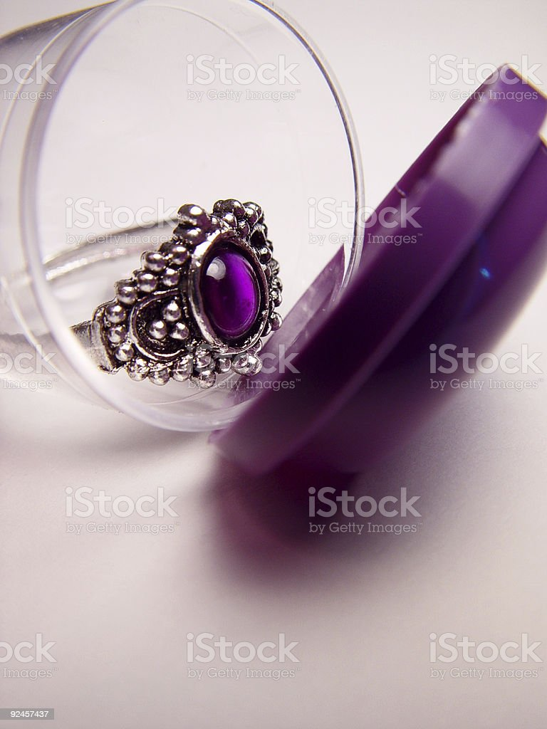 Toy Ring stock photo