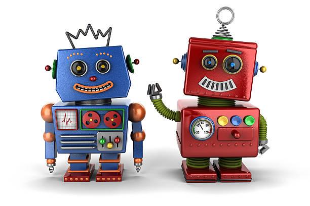 toy robot buddies - 卡通 個照片及圖片檔