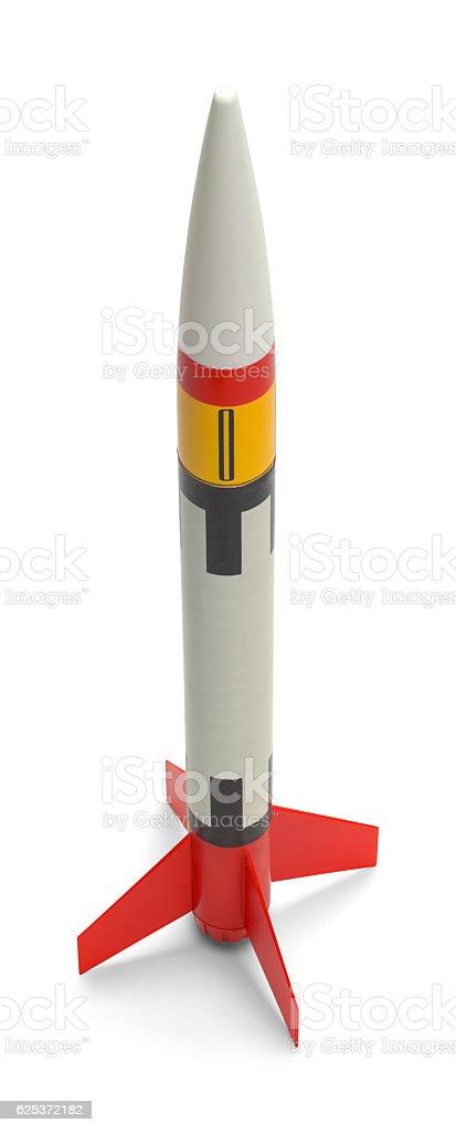 Toy Rocket stock photo