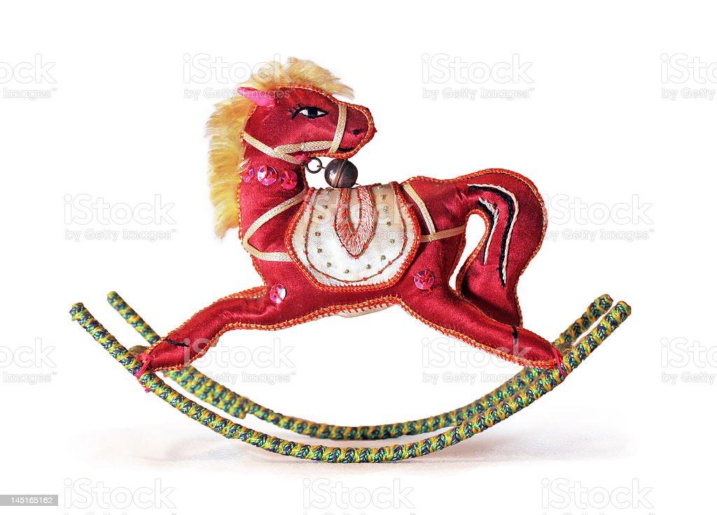 Toy Rocking Horse royalty-free stock photo