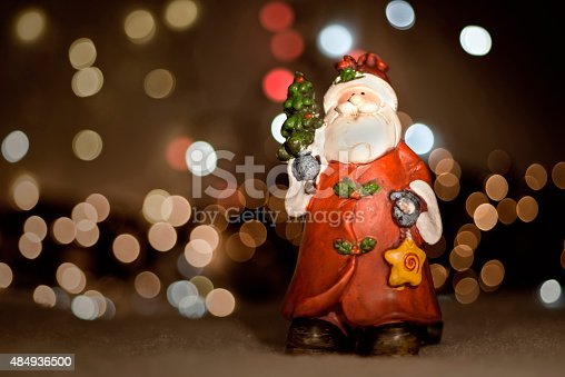 Toy Santa Claus Stock Photo & More Pictures of 2015