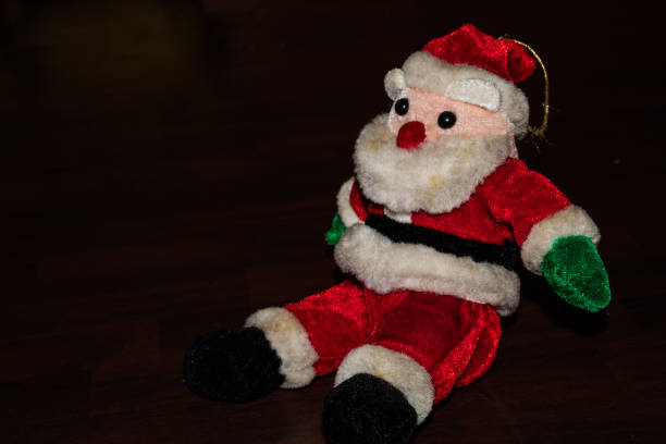 Toy santa Toy santa christmas teddy bear stock pictures, royalty-free photos & images