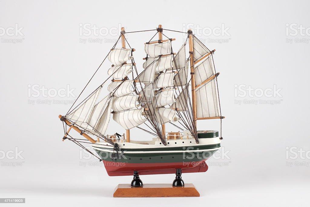 Toy navio de - foto de acervo