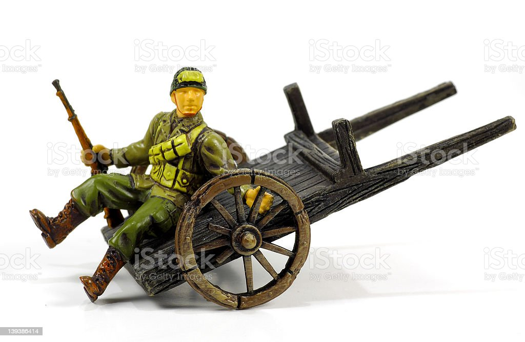 Toy Soldier 2 royalty-free stock photo