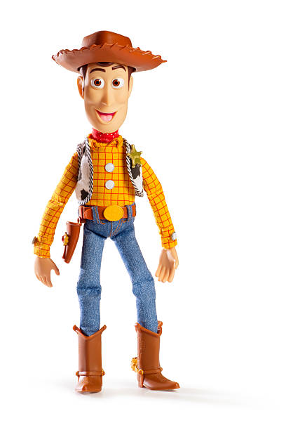 toy story sherriff woody - fantasie disney stock-fotos und bilder