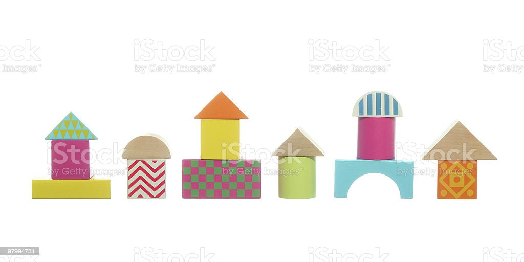 Toy street royalty free stockfoto