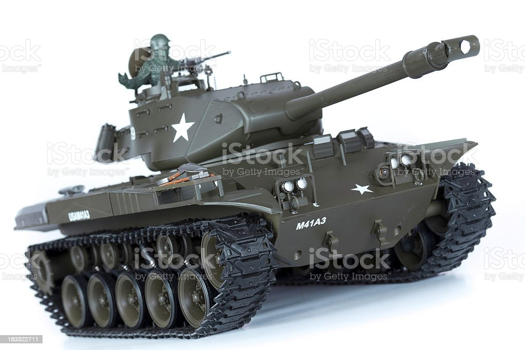 toy tank stock photo